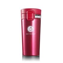 聚贤圈不锈钢真空咖啡保温杯日式V型汽车杯商务水杯GP0044