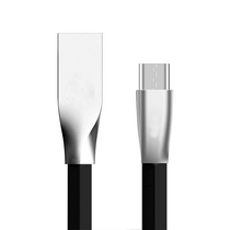 TOMONI锌合金安卓1米快充数据线HY5安卓(颜色随机)