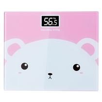 宝富利家用人体健康体重秤电子秤BFL-C1712粉色小猪
