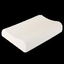 快乐小稻乳胶枕泰国进口天然橡胶成人护颈枕按摩高低曲线波浪保健枕枕芯记忆枕乳胶枕头曲线枕