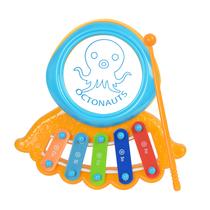 贝芬乐海底小纵队八爪鱼敲琴敲锤玩具两件套JXT55313