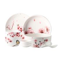 【颜值好物】Evergreen爱屋格林樱花餐具9件套T1907A-2