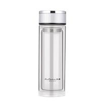 火象双层防烫玻璃杯便携水杯高档泡茶杯HXB-BL020名仕杯