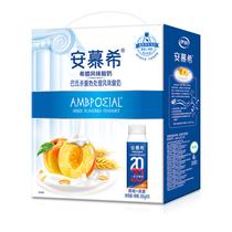 伊利安慕希希腊风味酸奶黄桃+燕麦(200g×10瓶)