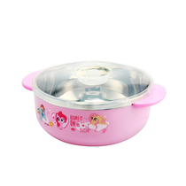 小马宝莉儿童不锈钢双耳碗MLPC010