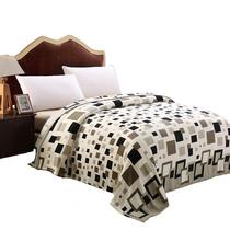 寐の魅加厚绒毯子午睡毯1.5米时尚格调