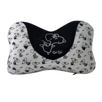 GiGi汽车头枕记忆棉枕头车枕头靠枕G-1077(颜色随机发货)