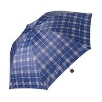 天堂三折晴雨伞339S格颜色随机