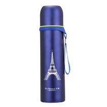 火象304不锈钢子弹头真空保温杯保冷杯巴黎印象HXG-BW029【直降】