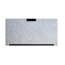 檀紫珠连毛毡鼠标垫多功能电脑桌垫环保毛毡材质HL064