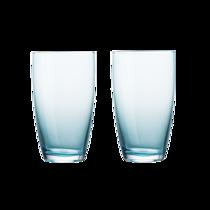 【网易严选】2件装钠钙玻璃高口杯470ml