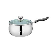 三盛科技奶锅不锈钢小汤锅辅食热奶泡面锅厨具锅具16CM