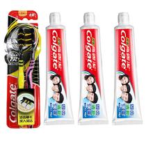 高露洁超强牙膏140克×3支+高露洁适齿多效型牙刷买一送一