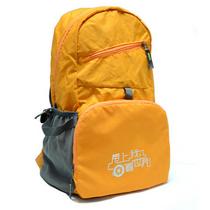 礼乐汇户外超轻双肩背包折叠背包LLH-001(橙色)