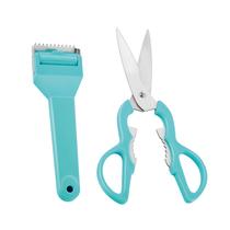德铂厨房工具2件套多功能剪刀削皮刀DEP-331