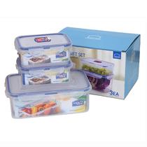 乐扣乐扣塑料保鲜盒三件套HPL817S001