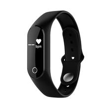 TOMONI天天智能手环测心率蓝牙计步器安卓苹果防水运动手表HY0520