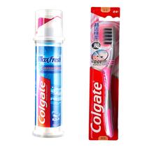 高露洁劲酷清爽牙膏(直立式)100ml×1支+高露洁超洁纤柔牙刷单支装