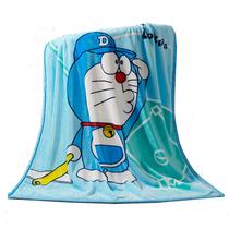 图奇床上用品法兰绒小毛毯空调毯儿童毯(颜色随机)