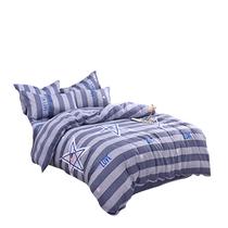 宜恋全棉四件套床上四件套床品套件南海风尚