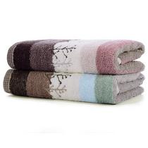 喜鹊毛巾面巾两条套装毛巾