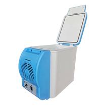 爱车帮车载冰箱6L小型宿舍迷你小冰箱车用便携式冷暖两用