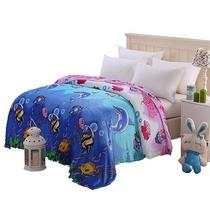 被窝窝加厚绒毯子午睡毯BW-G22001(1.5米)海底世界