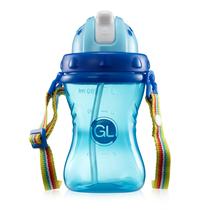GL格朗宝宝学饮杯防漏防呛婴儿吸管杯XY-02颜色随机发