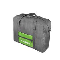 爱登堡防水尼龙折叠式旅行休闲大容量收纳袋手提袋F1630灰色