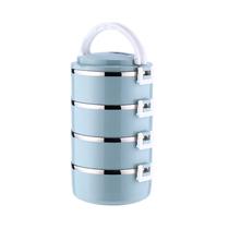 宝富利不锈钢四层保温盒BFL-1102-4