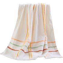 禧尔纯棉吸水加厚浴巾一条装颜色随机发