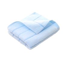 细工坊纯棉毛巾全棉柔软舒适面巾成人加厚吸水毛巾蓝色
