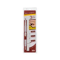 名创优品(MINISO)三合一扁口塑形眉笔颜色随机