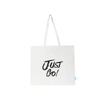 【双旦】【携程优品】JustGo简约单肩帆布包(颜色随机发货)-44472