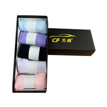 传枫五双装女袜混色低帮隐形袜船袜CF-8802