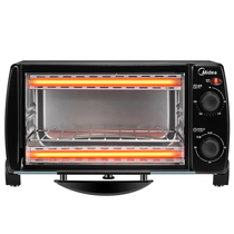 美的家用多功能迷你电烤箱10升家用容量T1-108B