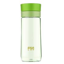 富光户外旅行学生运动塑料水杯便携随手耐摔带茶隔提绳杯FS1060-500