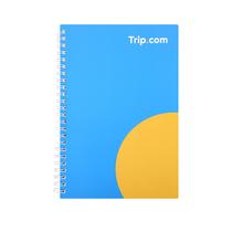 【携程优品】简约线圈笔记本Trip.com定制款-60896