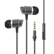 英菲克入耳式耳机K歌手机电脑重低音炮带麦金属魔音耳塞式耳机in6Pro