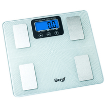 贝雅(BERYL)家用人体健康脂肪秤体重秤颜色随机BYF20C