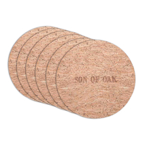 【小米有品】橡儿天然软木餐厨隔热垫盘垫6片装