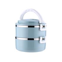 宝富利不锈钢双层保温盒BFL-1102-2