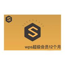 WPS超级会员12个月
