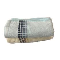 檀紫珠连竹浆竹纤维毛巾柔软吸水面巾成人加厚毛巾(2条装)HL038颜色随机发货