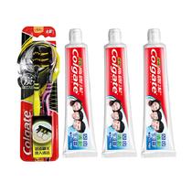 【特惠专场】高露洁超强牙膏140克×3支+高露洁适齿多效型牙刷