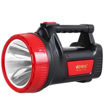 康铭LED5W加亮升级手提探照灯家用可充电室外户外露营照明灯KM-2662带侧灯照明