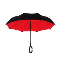 爱车屋创意双层晴雨反向伞I-3071