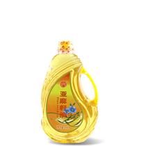 康保县红坝冷榨亚麻籽油1.8升/桶
