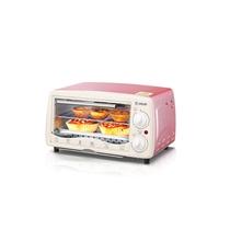 东菱(Donlim)多功能电烤箱家用烘焙12L小烤箱控温蛋糕迷你烤箱DL-K12