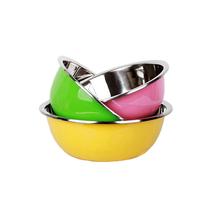 乐仕菲斯酷彩三件套装不锈钢盆洗菜盆RS316T